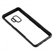 GEARGEAR Mobilskal med Tempererat Glas Svart Samsung S9