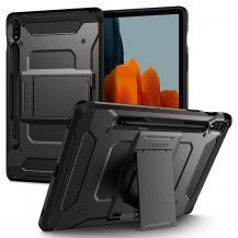 SpigenSPIGEN Tough Armor Pro Fodral Galaxy Tab S7 11.0 T870/T875 Gunmetal