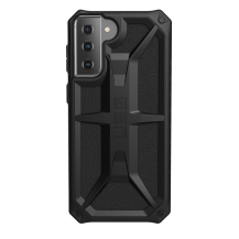 UAGUAG Samsung Galaxy S21 Plus Monarch-Fodral Svart