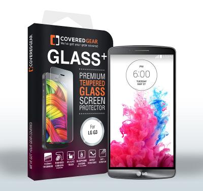 CoveredGear härdat glas skärmskydd till LG G3