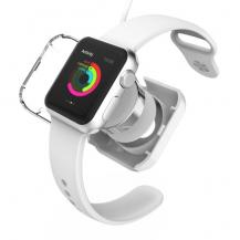 VCOERVCOER Skyddande laddningsskal till Apple Watch 38mm / 42mm - Vit