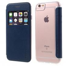 G-CaseG-Case Mobilfodral med fönster till iPhone 6/6S/7/8 Plus - Blå