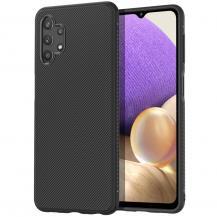 A-One BrandTwill Texture Flexicase Skal till Galaxy A32 5G - Svart