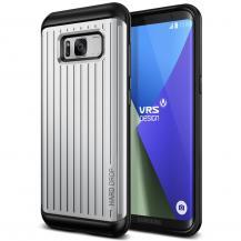 VERUSVerus Waved Hard Drop Skal till Samsung Galaxy S8 Plus - Silver