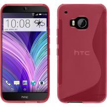 OEMFlexicase Skal till HTC One M9 - Magenta