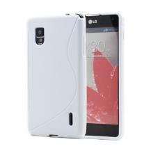 A-One BrandFlexiSkal till LG Optimus G E975 (Vit)