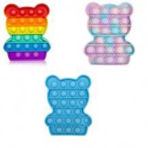 Fidget Toys3 Pack - Pop it Fidget Sensory Leksak - Panda