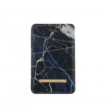 OnsalaONSALA Kortfodral Black Galaxy Marble Universal 2 Kortplatser