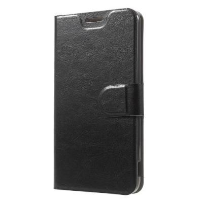 Crazy Horse Plånboksfodral till LG G5 - Svart