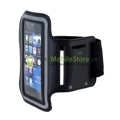 Armband till iPhone 4 / 3GS (SVART)
