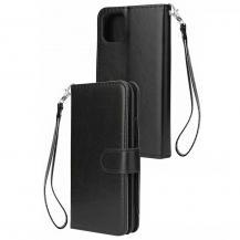 A-One BrandElegant Plånboksfodral till iPhone 11 - Svart
