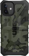 UAGUAG Pathfinder Cover Skal iPhone 12 Mini - Forest Camo