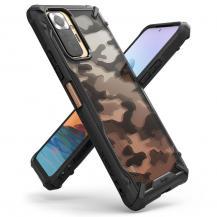 RingkeRingke - Fusion X Mobilskal Xiaomi Redmi Note 10 Pro - Camo Svart