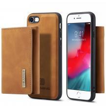 DG.MINGiPhone 7/8/SE 2020 Skal DG.MING M1 Magnetic Tri-fold Wallet Med Kickstand