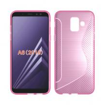 OEMFlexicase Mobilskal till Samsung Galaxy A6 (2018) - Rosa