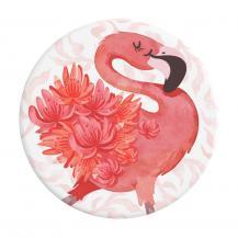 PopSocketsPOPSOCKETS Flamingo a Go Go Avtagbart Grip med Ställfunktion