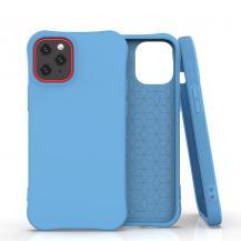 HurtelSoft Color Case iPhone 12/12 Pro Skal Blå