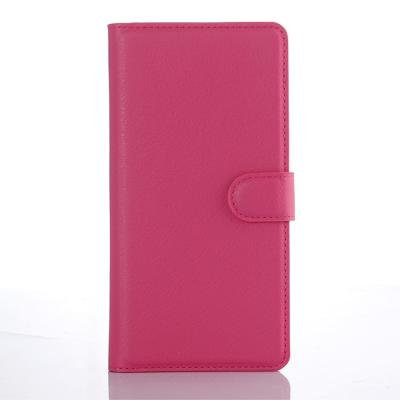 Litchi Plånboksfodral till Sony Xperia XA1 - Magenta