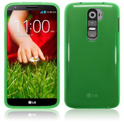 FlexiCase Skal till LG G2 (Grön)