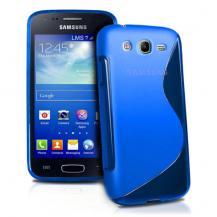 OEMFlexiCase Skal till Samsung Galaxy Core Advance - (Blå)