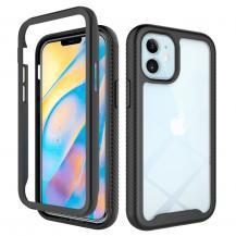A-One BrandHeltäckande Skal till Apple iPhone 12 Mini - Svart