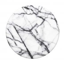 PopSocketsPOPSOCKETS Dove White Marble Avtagbart Grip med Ställfunktion