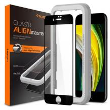 SpigenSpigen Tempered Glass ALM Glass FC iPhone 7/8 / Se 2020 - Svart