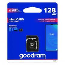 GoodramGoodram Microcard 128 GB micro SD XC UHS-I class 10 memory card