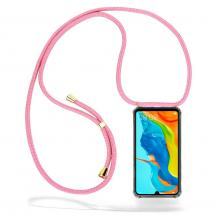 CoveredGear-NecklaceCoveredGear Necklace Case Huawei P30 Lite - Pink Cord