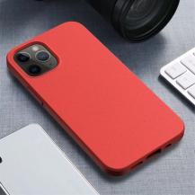 OEMWheat Straw Eco-Vänling Mobilskal iPhone 12 Mini - Röd