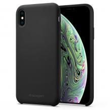 SpigenSPIGEN Silicone Fit iPhone Xs Max Svart