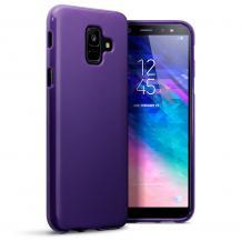 OEMGel Skin Mobilskal Samsung Galaxy A6 2018 - Lila