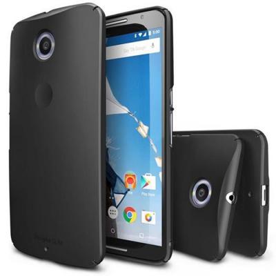 Ringke Slim Skal till Google Nexus 6 - Svart