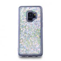 CoveredGearGlitter Skal till Samsung Galaxy S9 - Silver