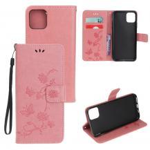 OEMButterfly Plånboksfodral till iPhone 11 - Rosa