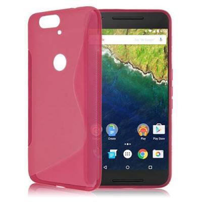 S-Line Skal till Huawei Nexus 6P - Magenta