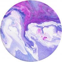 PopSocketsPOPSOCKETS Lavender Flow Avtagbart Grip med Ställfunktion