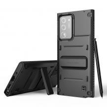 VERUSVRS DESIGN | Damda QuickStand Skal Galaxy Note 20 Ultra - Svart