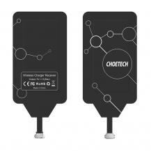 ChoetechChoietech Adapter Trådlös Qi - Micro USB - Svart