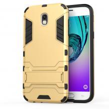 OEMKick-Stand Mobilskal till Samsung Galaxy J5 (2017) - Gold