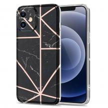 Boom of SwedenBoom of Sweden Grid skal till iPhone 12 Mini - Svart Marmor