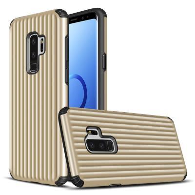 Hybrid Armor Skal till Samsung Galaxy S9 - Guld