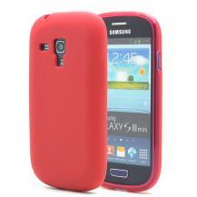 OEMSilikonskal till Samsung Galaxy S3 Mini i8190 (Röd)