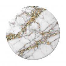 PopSocketsPOPSOCKETS Gold Sparkle Marble Avtagbart Grip med Ställfunktion
