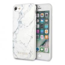 GuessGuess skal iPhone 7/8 Vit Marble