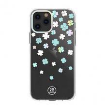 KingxbarKingxbar Lucky Series iPhone 12/12 Pro Skal transparent Clover