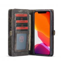 CasemeCASEME 2-in-1 Plånboksfodral för iPhone 11 Pro - Grå