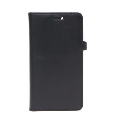 BUFFALO Läder Plånboksväska till iPhone 11 Pro Max - Svart
