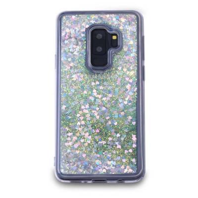 Glitter Skal till Samsung Galaxy S9 Plus - Silver billigt online ... 2001e70b68961