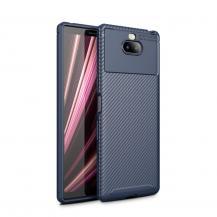 OEMFull Carbon Mobilskal till Sony Xperia 10 - Blå